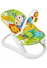 Fisher Price Hamaca Plegable Animalitos de la Selva Mattel CMR20