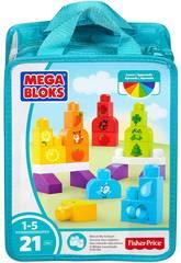 Megabloks Bag Construa e Aprenda. Mattel CNH08