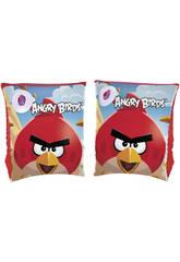 Flutuadores de Braço 23x15cm. Angry Birds Bestway 96100