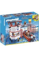 Playmobil Approdo della Guardia Costiera con Faro