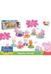Figuras baño Peppa Pig