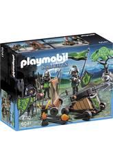 Playmobil Caballeros del Lobo con Catapulta 6041