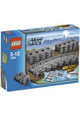 Lego City Trenes Vías Flexibles 7499