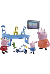 Peppa Pig Playset Famille