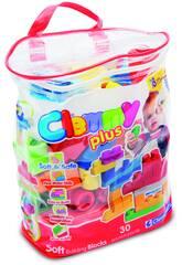 Clemmy Plus Bolsa 30 Bloques Clementoni 14879