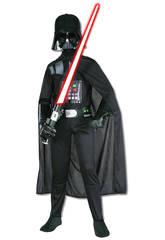Disfraz Niño Darth Vader EP7 Classic T-M Rubies 882009-M