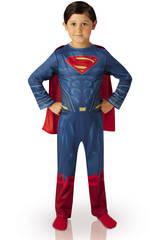 Déguisement Enfant Superman Doj Classic T-L