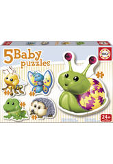 Baby Puzzle Animales Del Bosque Educa 15892
