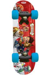 Pat Patrouille Skateboard Bois 43 cm.