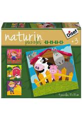 Diset Puzzle Naturin 2 Fattoria Diset 69958
