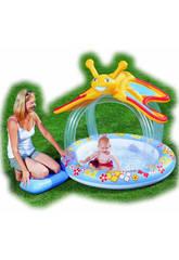 Pool BEBE MARIPOSA 137X127X132 cm. Bestway 52137B
