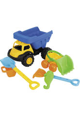 Truck 37 cm. With Accessories For the Beach