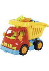 Toy Dump Truck mit Strandzubehör