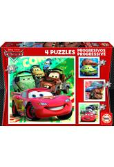 Progressives Puzzle 12-16-20-25 Cars