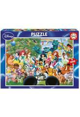 Puzzle 1000 Die wunderbare Welt von Disney II Educa 16297