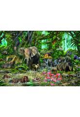 Quebra-cabeça 2000 African Jungle