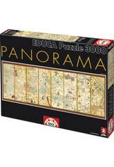 Puzzle 3000 Mapamundi de 1375, Cresques Abraham