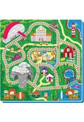 Set Eva Puzzle Train 9 Pièces