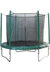 Tappeto Elastico 366 cm Ø x 260 cm con rete