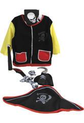 Maschera Bambini Pirata Con Accessori