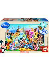 Puzzle Merveilleux Monde de Disney 100