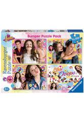 Puzzle Soy Luna Bumper Pack 4x100 Piezas