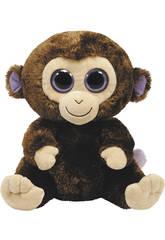 Peluche Médio Coconut Macaco Marrom