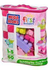 Mega Bloks sac de 60 pièces Rose