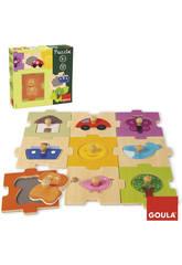 Puzzle Interchangeable 18 pièces