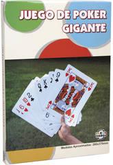 Cartes de poker géantes 260x370 cm.