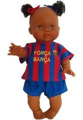 Puppe 34 cm Gordi Junge Barça Paola Reina 34049
