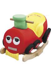 Treno Rosso A Dondolo Musicale