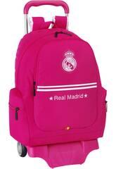 Mochila con Ruedas Real Madrid 2ª Equipación