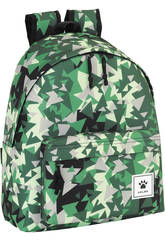 Day Pack Kelme Triangles Verts