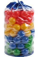 Bolsa 100 Bolas 7cm de Colores