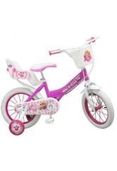 Bicicleta Patrulla Canina Skye 14