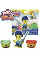 Playdoh Figure Town