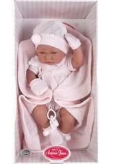 Antonio Juan Bambola Bebè con Copertina 40 cm