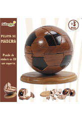 Puzzle 3D ballon en bois