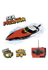 Radio Control Lancha Sea Predator Doble Hélice