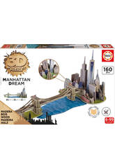 Puzzle 3D Monument Puente De Brooklyn