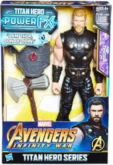 Avengers Thor Figurine 30 cm et Sac à Dos FX Hasbro E0616