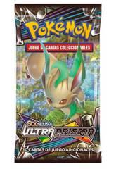 Pokémon Gioco di Carte Collezionabili Sole e Luna Ultraprisma Pacchetto 10 Carte Asmodie 35935
