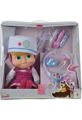 Masha Doctor avec Mallette et Accessoires Simba 9306542