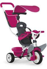 Triciclo 3 in 1 Rosa baby Balade 2 Smoby 741101