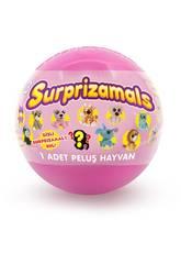Suprazimals Serie 1 Boule avec peluche surprise de 6 cm. Beysal SUR10113