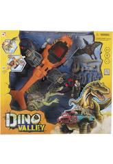 Dino Valley Playset Exploración Aérea
