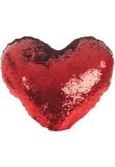 Cojín Corazón Lentejuelas 45 cm. Llopis 18170