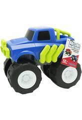 Monster Truck Azul de 23 cm.