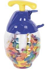 Bottiglia con 250 Palloncini d'acqua 5 cm.